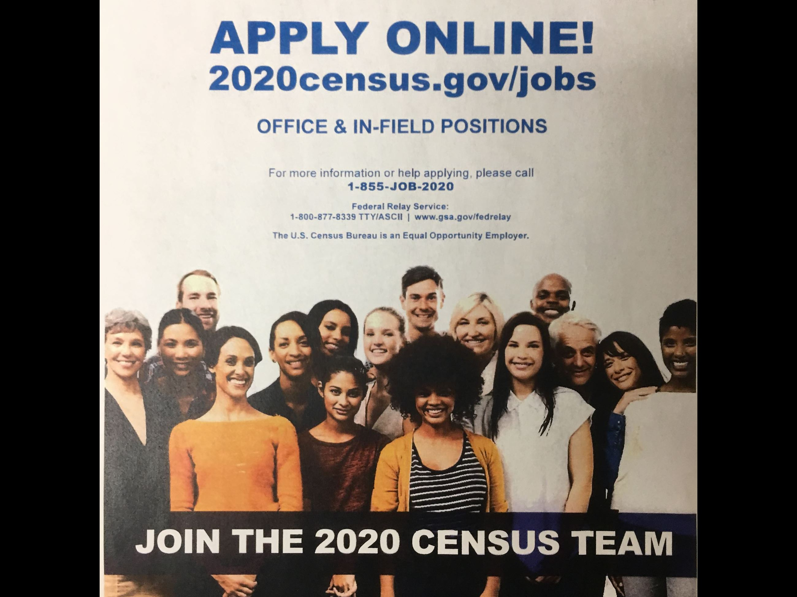 Census Help Wanted Flyer